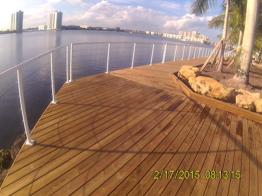 Residential Dock Construction in Miami Beach
