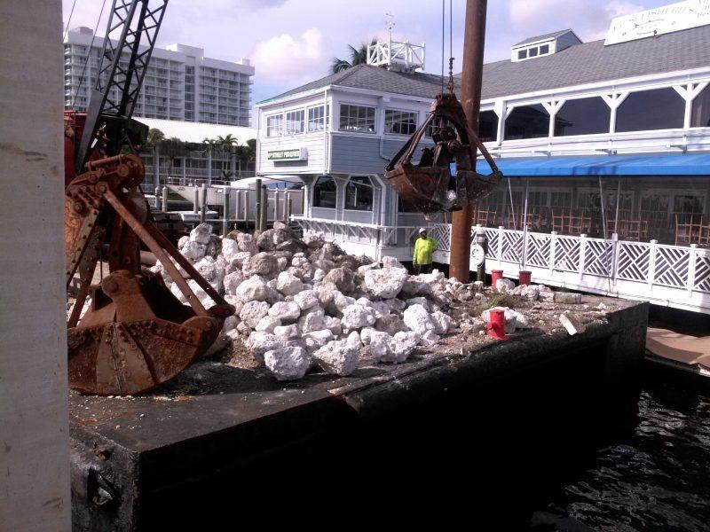 Fort Lauderdale Marina Seawall Repair