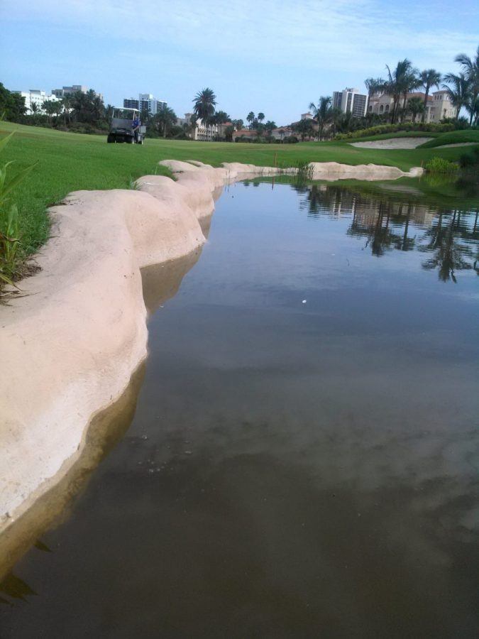 Erosion Repair at Turnberry Isle Golf Course, Aventura